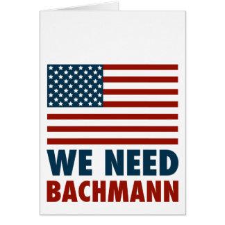 Wir benötigen Michele Bachmann Karte
