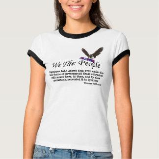Wir der Leute-große Regierungs-politische T - T-Shirt