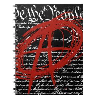 Wir die Leute: Anarchie Spiral Notizblock