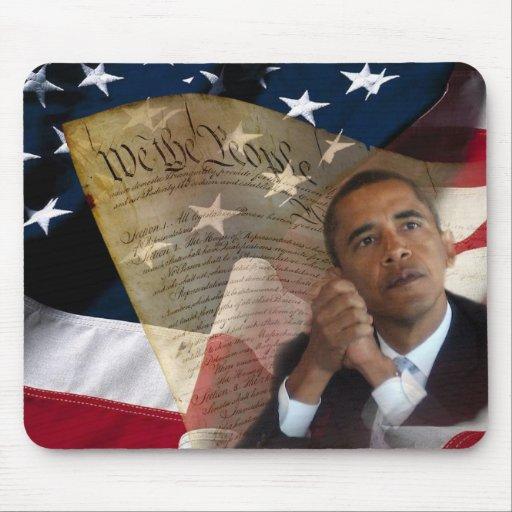 Wir die Leute… Barack Obama u. die Konstitution Mauspad