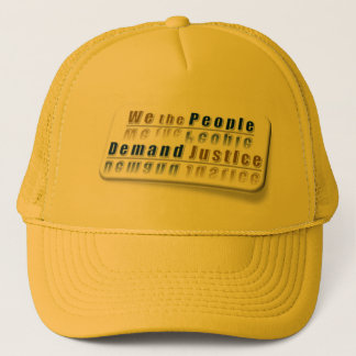 ~ wir die Leute, * bunte Reihe: Nachfrage #Justic Truckerkappe