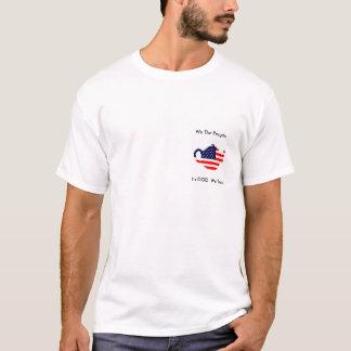 Wir die Leute im Gott wir vertrauen patriotischem T-Shirt