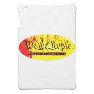 Wir die Leute sind die Regierung das MUSEUM Zazzle iPad Mini Hülle