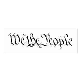 Wir die Leute-Visitenkarte