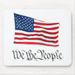 """""""Wir die Leute"""" w/Flag Mauspad"""