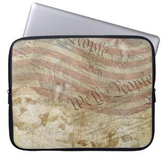 Wir die patriotische Flaggen-Hülse LeuteMt Laptopschutzhülle