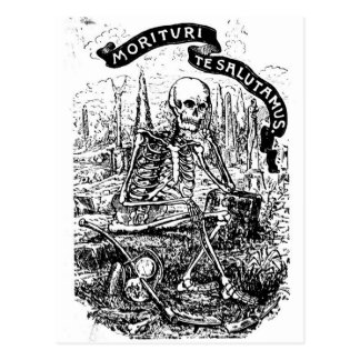 Wir, die sind, zu sterben Gruß Sie Postkarte