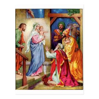 Wir drei Könige Postkarte