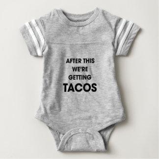 Wir erhalten Tacos Baby Strampler