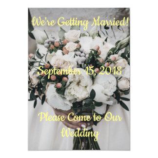 Wir erhalten verheiratete Einladung Einladung