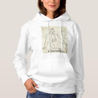 Wir erhielten Ihnen mit Kapuze Sweatshirt
