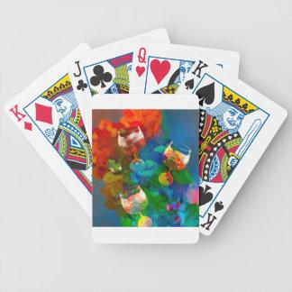 Wir feiern das Leben in den vollen Farben Bicycle Spielkarten
