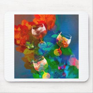 Wir feiern das Leben in den vollen Farben Mousepad