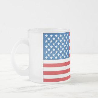 wir Flagge groß Mattglastasse