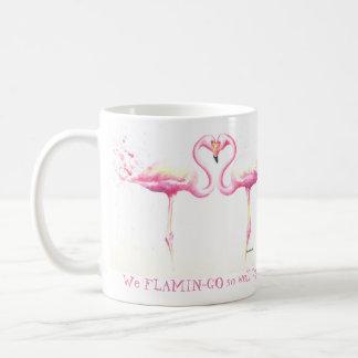 Wir Flamingo so gut zusammen! Tasse