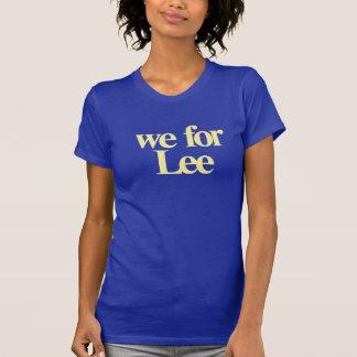 Wir für Lee T-Shirt