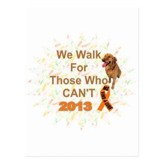 wir gehen - WEG Mitgliedstaates 2013 Postkarte