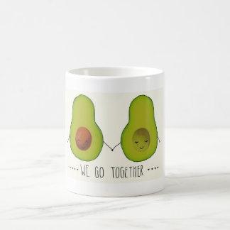 """""""Wir gehen zusammen"""" Avocado-Tasse Kaffeetasse"""