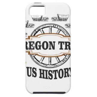 wir Geschichtsoregon-Spur iPhone 5 Schutzhülle