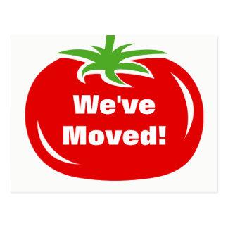 Wir haben bewegliche Postkarte der neuen Tomate