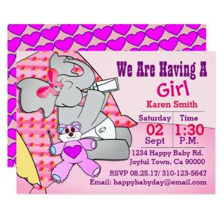 Wir haben ein Mädchen, Elefanten Karte