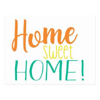 Wir haben | einfaches Zuhause-Bonbon-Zuhause Postkarte