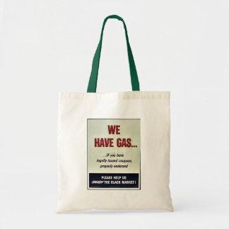 Wir haben Gas Einkaufstasche