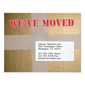 Wir haben Mitteilung bewegt 10,8 X 14 Cm Einladungskarte