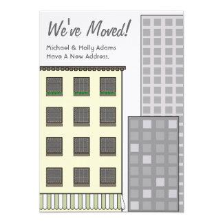 Wir haben neue Adresse/neue Wohnung bewegt 12,7 X 17,8 Cm Einladungskarte