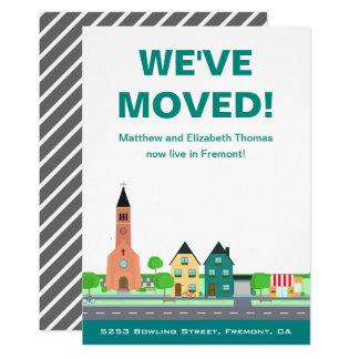 Wir haben | neue bewegliche Mitteilung Adressen-| Karte
