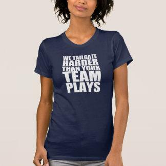 Wir Heckklappe stark als Ihr Team spielen lustiges T-Shirt