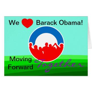 Wir Herz Barack Obama! Abstimmung auf 11/06/12 Karte
