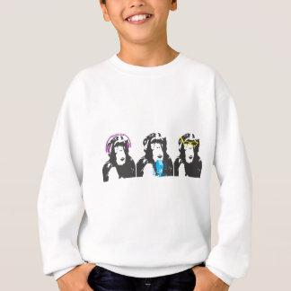 Wir hören, wir sprechen, wir sehen Sachen Sweatshirt