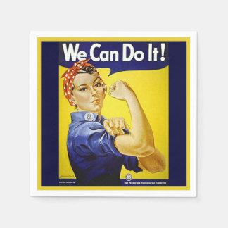 Wir können es tun! papierserviette