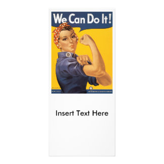 Wir können es tun Weltkrieg 2 Werbekarte