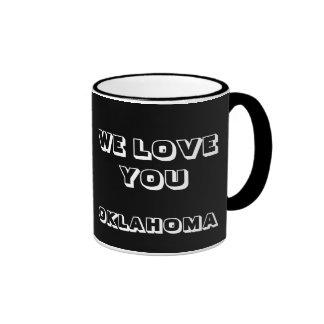 WIR LIEBE SIE OKLAHOMA-KAFFEE-TASSE