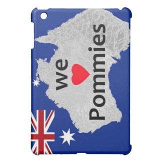 Wir Liebepommies-australischer Flagge iPad Fall iPad Mini Hülle