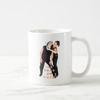 Wir müssen sprechen kaffeetasse