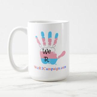 Wir R1 USA Regenbogen-Tasse - Transgender Kaffeetasse