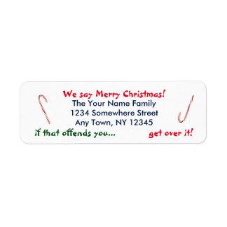 Wir sagen frohe Weihnachten