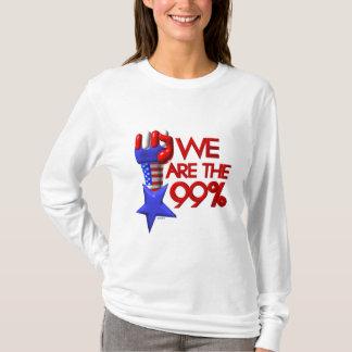 Wir sind 99% steigender Stern T-Shirt
