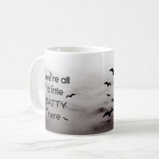 Wir sind alle ein wenig BEKLOPPTES hier Kaffeetasse