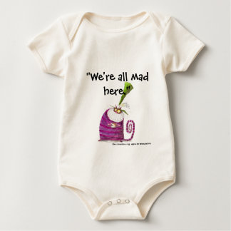Wir sind alle hier wütend baby strampler