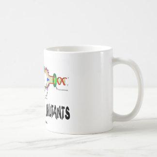 Wir sind alle Mutanten (DNA-Reproduktions-Spaß) Kaffeetasse