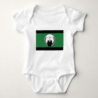 Wir sind anonym baby strampler