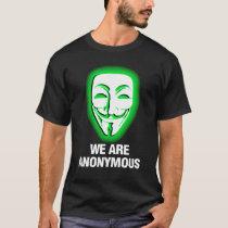 WIR SIND ANONYM. (GRÜN) T-Shirt