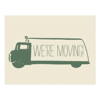 Wir sind bewegliches Retro bewegliches Van