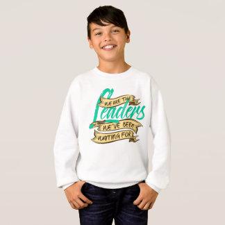 Wir sind das Sweatshirt des Jungen
