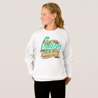 Wir sind das Sweatshirt des Mädchens