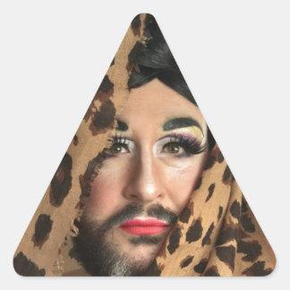 Wir sind eine Unmöglichkeit Dreieckiger Aufkleber